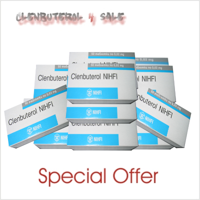 Clenbuterol 10 boxes 500 tabs For Sale